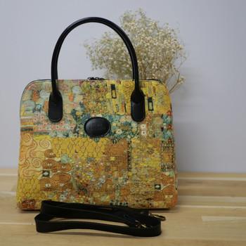 """Sac à main Royal Tapisserie de la collection """"Klimt Le Baiser"""" (ref 8887.72) Royal Tapisserie / Handbag tapestry"""