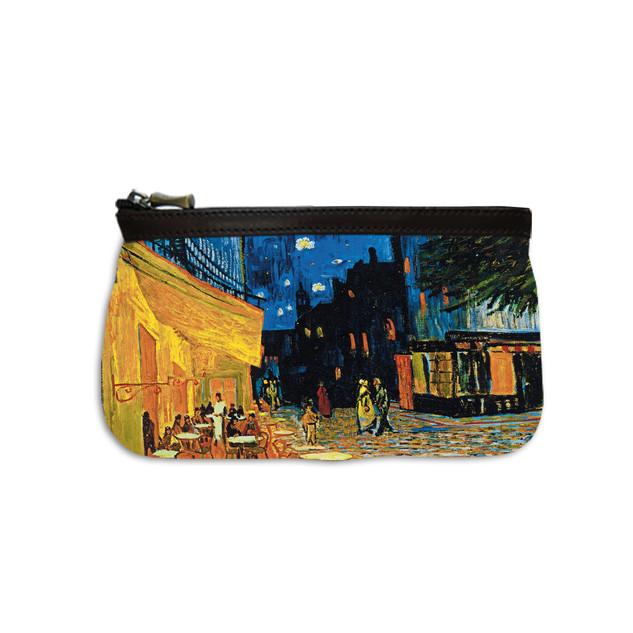 """Trousse maquillage """"Terrasse du café le soir"""" Van Gogh - Référence: 8850V1"""