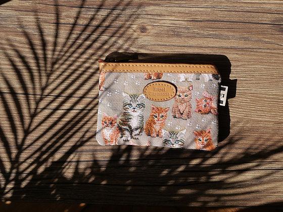 pochette pour masque chats motif chatons pochette de protection pour masque pochette de rangement pour masque tissu chats