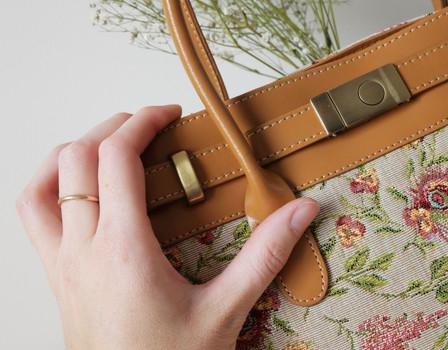 """Sac à main de la collection """"Broché de la Reine Marie-Antoinette"""" (ref 8967.65) Royal Tapisserie / Handbag tapestry"""