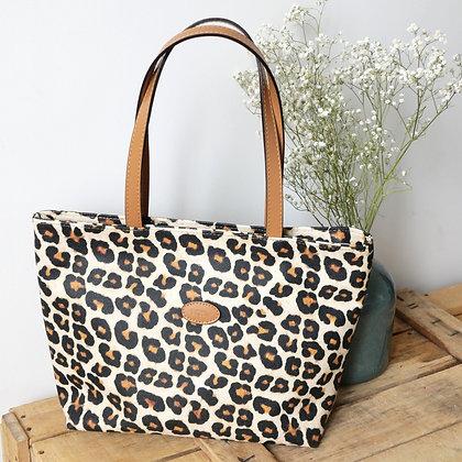 sac shopping Trousse leopard panthere pochette porte monnaie etui lunette sac à main pencil case handbag coin purse glasses