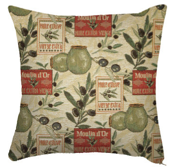Coussin Olivades 36 x 36 cm