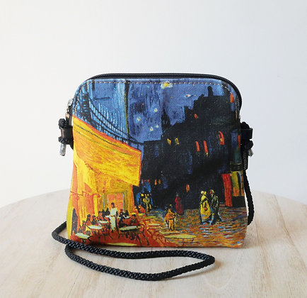 8971V1 sac 3 courses Terrasse du café le soir de Van Gogh