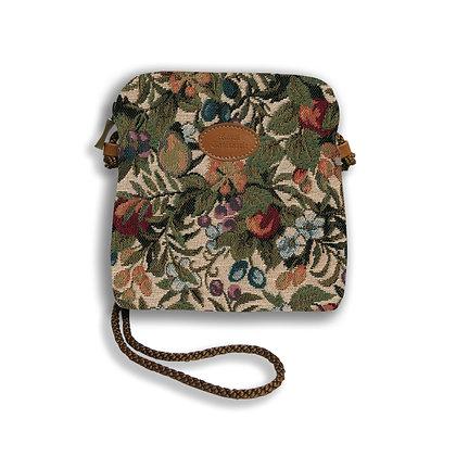 8971.1 Petit sac 3 courses Fleurs de Prunier