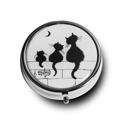 """5186 Boîte à pilules """"Le Trio"""" Les Chats de Dubout Les Chats de D"""