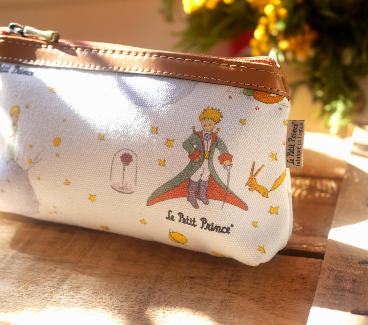 Le Petit Prince trousse maquillage Anoa - Fabrication française - Maison Martin par Royal Tapisserie