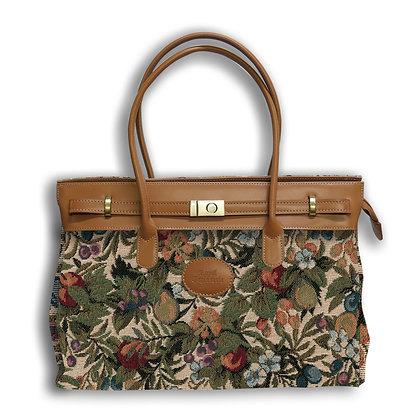8963.1 Maxi bag Fleurs de Prunier