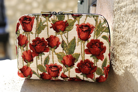 8881.66 Trousse de toilette Roses Rouges