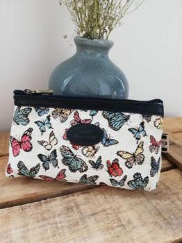"""Trousse maquillage de la collection """"Papillons"""" (ref 8850.68) Royal Tapisserie / Pencil case tapestry"""