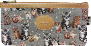 Trousse collection CHATONS (tissu n°71)