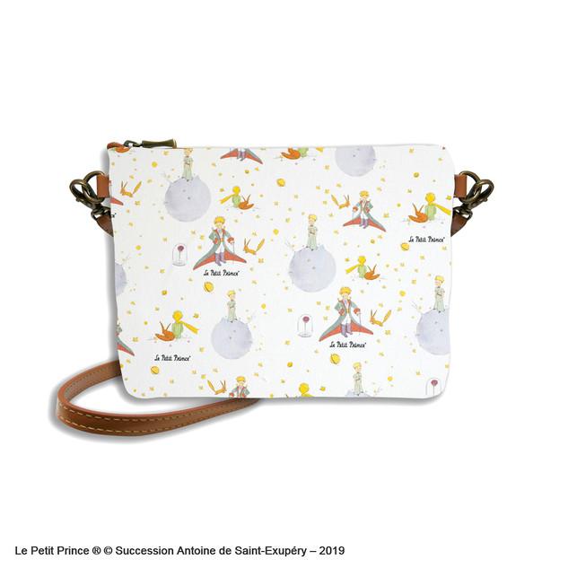Sac mousquetons bandoulière Le Petit Prince - Référence 8972LPP