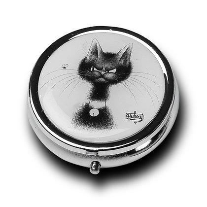 """5183 Boîte à pilules """"Chat mouche"""" Les Chats de Dubout Les Chats de Dubou"""