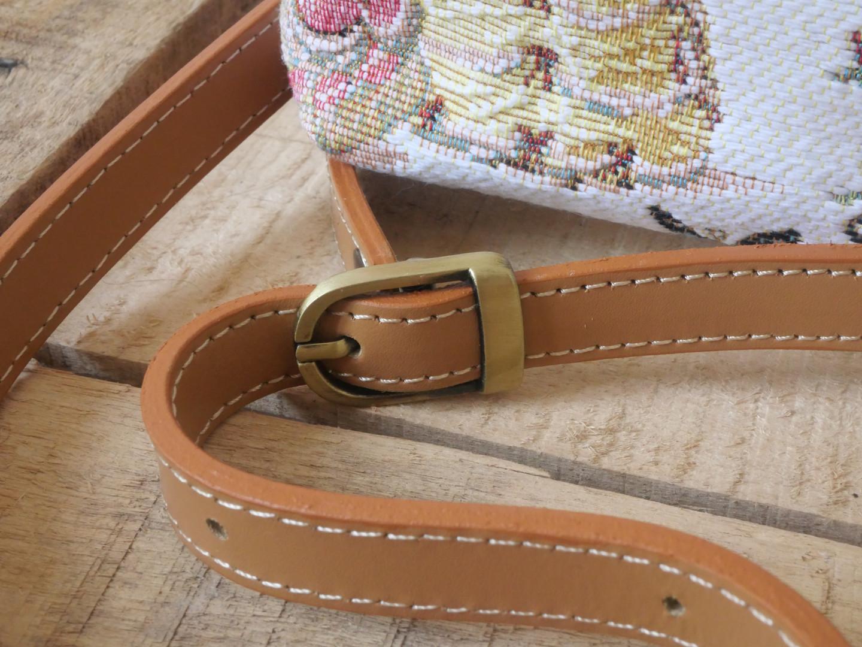 """Sac bandoulière de la collection """"Bal paré"""" (ref 8972.78) Royal Tapisserie / Shoulder bag tapestry"""