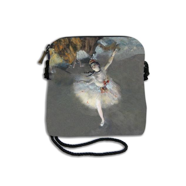 """Petit sac cordon """"La Danseuse"""" d'Edgar Degas Référence 8971D3"""