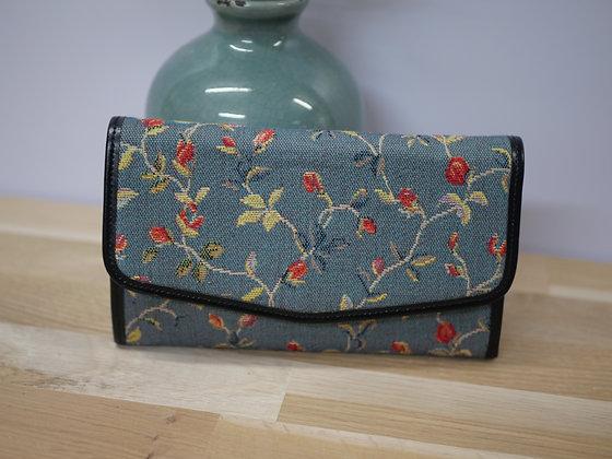 Sac royal tapisserie fabriqué en france fleurs sac royale tapisserie