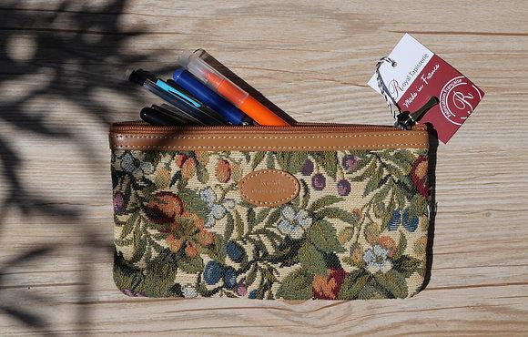 8929.1 Trousse à stylos Fleurs de Prunier
