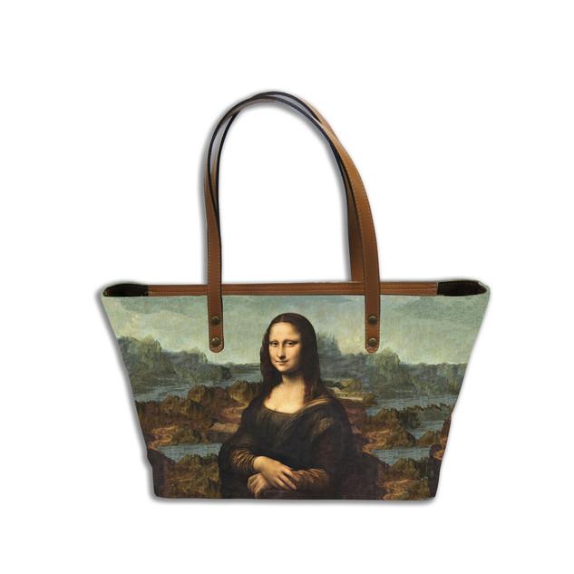 "Sac shopping ""La Joconde"" de Leonard de Vinci Référence 8975J1"