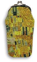 tapestry glasses case klimt the kiss royal tapisserie royale tapestry made in france