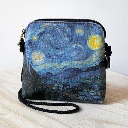 8971V6 sac 3 courses Nuit Etoilée de Van Gogh