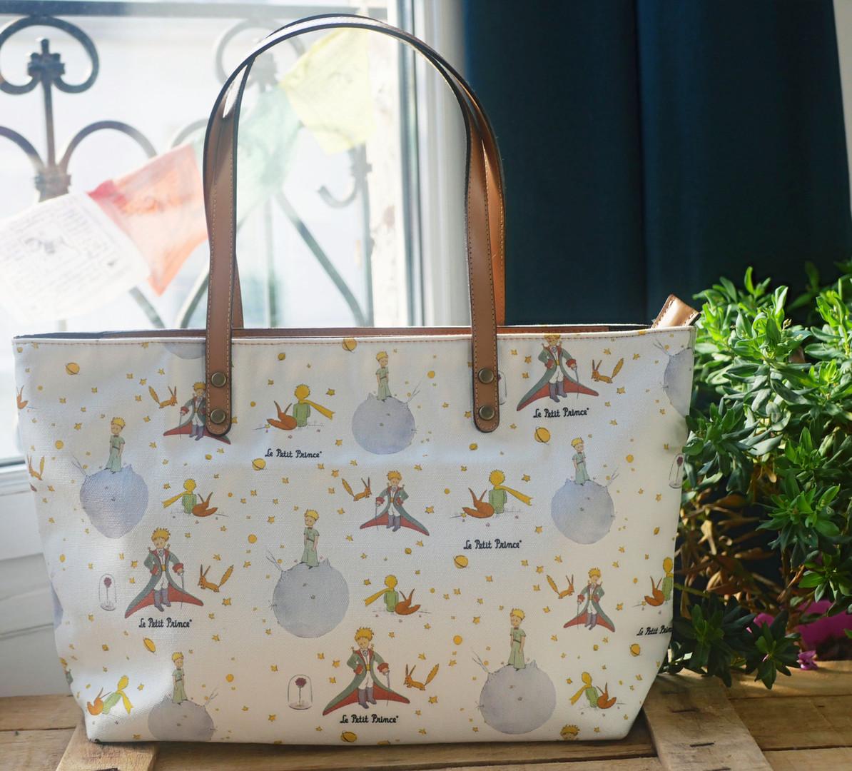 Le Petit Prince sac à main Phaona - Fabrication française - Maison Martin par Royal Tapisserie