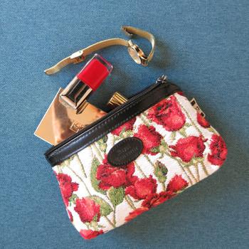 """Trousse maquillage de la collection """"Fleurs des Champs"""" (ref 8850.66) Royal Tapisserie / Pencil case tapestry"""