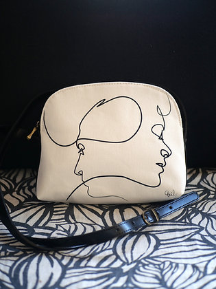 8901PB sac bandoulière Presque blanc de Quibe