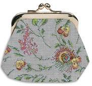 coin purse tapetry Royal Tapisserie france marie antoinette paris lys