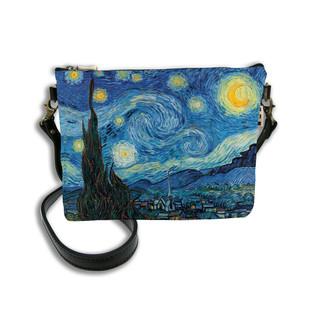 """Sac mousquetons bandoulière """"Nuit Etoilée"""" Van Gogh - Référence 8972V6"""