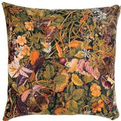 """Coussin """" Végétation - Mille Fleurs """"  - Royal Tapisserie cushion tapestry"""