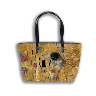 "Sac shopping ""Le Baiser"" Gustav Klimt  Référence 8975K1"