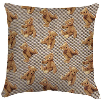 Coussin Oursons 36 x 36 cm