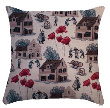 "Coussin "" Bruegel "" - Royal Tapisserie cushion tapestry"