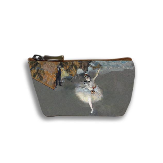 """Porte-monnaie zippé """"La Danseuse"""" d'Edgar Degas Référence 419D3"""