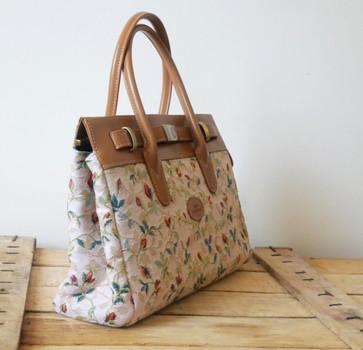 """Sac à main de la collection """"Printemps"""" (ref 8967.85) Royal Tapisserie / Handbag tapestry"""