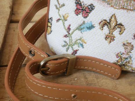 """Sac bandoulière de la collection """"Bal Paré"""" (référence 8901.78) Royal Tapisserie / Shoulder bag tapestry"""