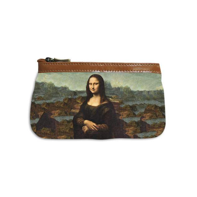 """Trousse maquillage """"La Joconde"""" de Leonard de Vinci Référence 8850J1"""