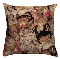 """Coussin """" Chat Beauté """" - Royal Tapisserie cushion tapestry Cats"""