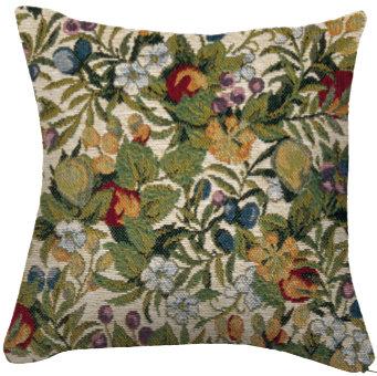 coussin tapisserie fleurs décoration murale royal tapisserie sac fabriqué en france versailles tapisserie chateaux