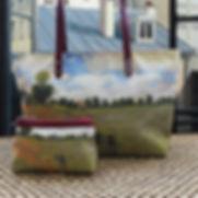 royal tapisserie maison martin claude monet les coquelicots sac à main pochette porte-monnaie trousse tote bag tapestry poppies