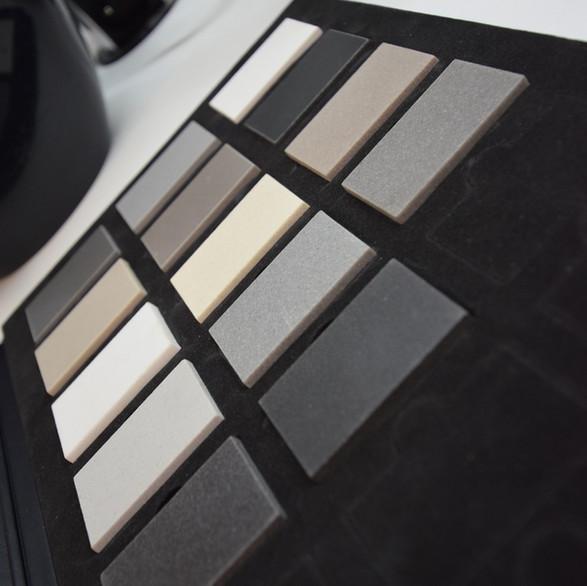 wzornik kolorów zlewozmywaków granitowych