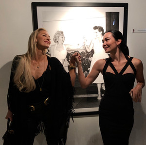 """Louise Linton and Kristen Ruhlin at the premiere of """"Welcome to Mercy"""""""