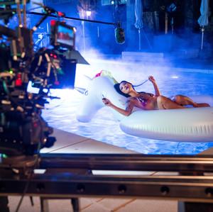 Shuya Chang on the set of Me, You, Madness