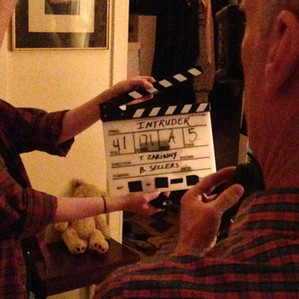 Behind the scenes of the film Intruder