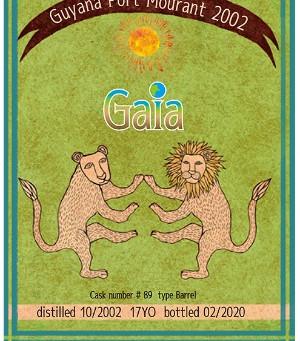 オリジナルボトルのご紹介9-「GAIA」ガイアナラム