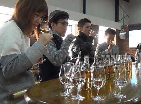 信州マルス蒸留所にて樽選定しました - We did cask selection at the Shinshu Mars distillery.