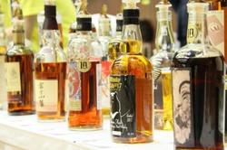 ウイスキートーク福岡オリジナルボトルの過去リリースボトルも有料試飲ブース