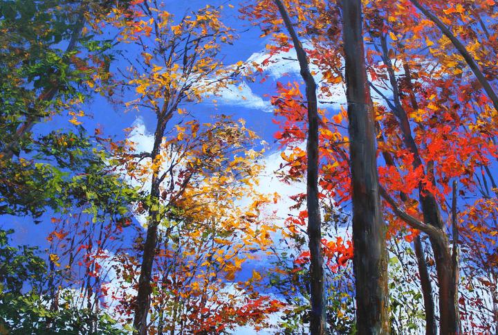 Autumn Daze  24x36