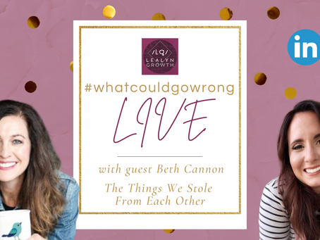 02/09/2021 - LIVE with Beth Cannon  - What We Stole From Each Other | #wcgwLIVE