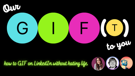02/24/2021 - LIVE with James Laurain & Jacob Scwer - How to GIF on LinkedIn | #wcgwLIVE