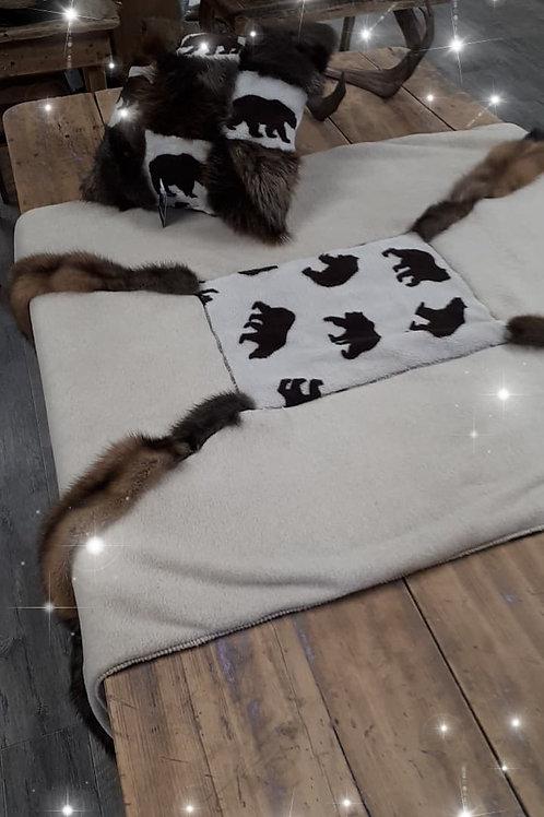 Couverture pour couchette